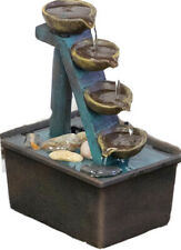 "ETERNITY INDOOR TABLETOP FOUNTAIN COLLECTION, 6""L x 4""W x 8""H-NIB Box Dented"