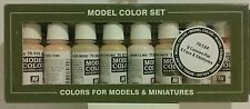 Vallejo 70.124, Face and skintones acrylic paint set