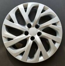 """One New Wheel Cover Hubcap Fits 2017-2018 Toyota Corolla 16"""" Silver 16 Spoke"""