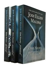 Jodi Ellen Malpas 3 Books One Night Trilogy Promised Denied Unveiled New