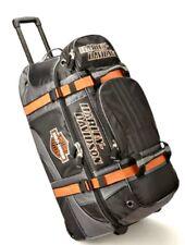 """Harley-Davidson Bar & Shield 33"""" Rolling Wheeled Duffel Travel Luggage Bag 99410"""