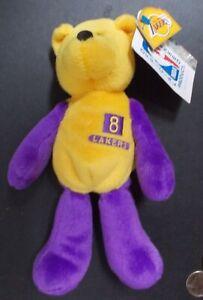 "1999 @RARE@ Limited Treasures "" Kobe Bryant "" # 8 Lakers Beanie Bear NWT"