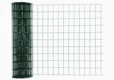 Gitterzaun, Gartenzaun, Maschendraht, grün, Masche 10x7,5cm, Rolle 1,5x25m
