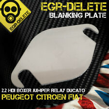 EGR blanking plate Peugeot BOXER 2.2 HDI CITROEN Jumper Relay FIAT Ducato