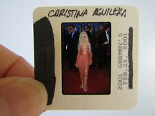 More details for original press photo slide negative - christina aguilera - 2001 - p