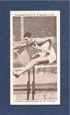 DONALD FINLAY AAA ATHLETICS CHAMPION HURDLER 1938 original card