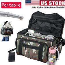 Portable Dental Turbine Unit Air Compressor Suction System Bag Triple Syringe Us