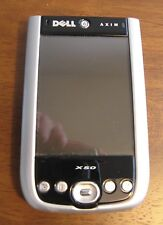 Dell Axim X50 PDA Pocket PC Bundle with original manual CD Cables & Accessories