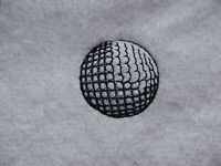 PERSONALISED Golf Ball Design Towel Tournaments, Trips abroad, Gift, Hook on bag