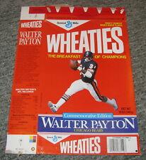 Walter Payton Chicago Bears Wheaties Box - Combine Ship