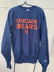 VINTAGE 1996 NFL CHAMPION REVERSE WEAVE CHICAGO BEARS SWEATSHIRT SZ L