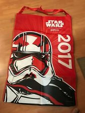 SDCC 2017 PETCO STAR WARS PET FANS CHEWBACCA STORMTROOPER HUGE SHOPPING BAG ~NEW