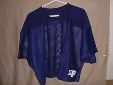 NEW  3XL RUSSELL ATHLETIC MESH DARK PURPLE FOOTBALL PRACTICE JERSEY Size  3XL bd3ff8ebe