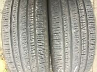 2x 235 55 19 PIRELLI SCOPION VERDE ALL SEASON TYRES 6MM TREAD 235/55 R19 91V M+S
