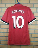Rooney Manchester United Adizero Jersey 2018 Home SMALL Shirt BQ7278 Adidas