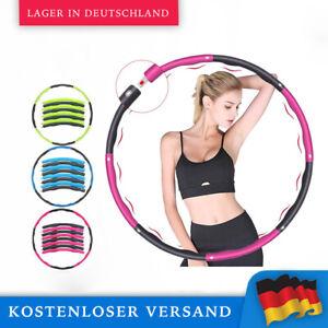 4x Hula-Hoop Reifen Fitnessreifen Bauchtrainer Fitnesstraining Trainingsreifen