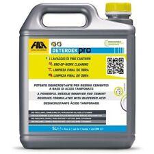 Fila Deterdek detergente Descalcificación Ácido 1 LT