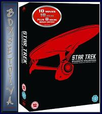 STAR TREK- MOVIES 1 - 10 REMASTERED - STARDATE COLLECTION ***BRAND NEW DVD ***
