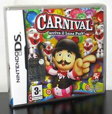 CARNIVAL ARRIVA IL LUNA PARK! GIOCO NUOVO PER NINTENDO DS E 3DS ED ITALIA PG629