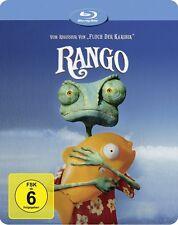 RANGO ( OSCAR 2012, Bester Animationsfilm) Blu-ray Disc, Steelbook NEU+OVP