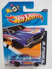 HOT WHEELS 2012 HW RACING 2/10 '70 CHEVELLE SS W/ SCAN & TRACK