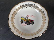 coupelle petite assiette porcelaine bavaria decor car fiat 24/32 ps