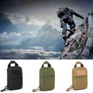 Outdoor Tactical Molle Medical First Aid EDC Pouch Pocket Bag Organizer