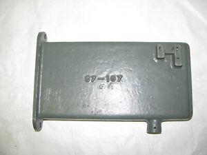 NOS NEW Atlas 7B Metal Shaper Milling Machine Oil Pan S7-107