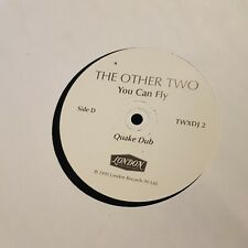 The Other Two (New Order) You Can Fly Quake remixes Promo 12""