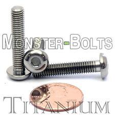 TITANIUM M5 x 25mm - DIN 9427 BUTTON HEAD Socket Cap Screw - BHCS - Ti Hex Allen
