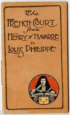 "Merrill & Baker Publisher 20 Volumes ""French Court"" Advertisement brochure 1902"
