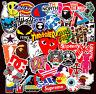 101 mix vinyl stickers Rock Tide brand LOGO Motorcycle Pokemon Skateboard Decals