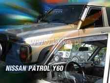 Windabweiser NISSAN PATROL GR Y-60 5-türer 1987-1997 4-tlg dunkel Regenabweiser