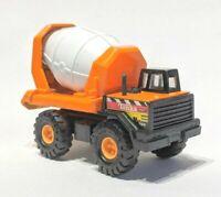 Maisto Tonka Hasbro Mighty Mini Cement Mixer truck #768 Orange 1/64 diecast 1998