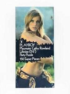 Vintage 1971 Playboy Playmate Cathy Rowland Lifesize Party Puzzle
