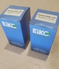 LOT OF 2 Eiko 01009 Headlight Bulb-Standard Lamp H4 60/55W 12V