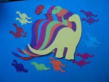 Dinosaur die cut shapes 8 large 16 small