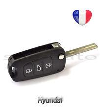 plip coque clé Hyundai I10 I20 I30 I40 IX35 3 boutons