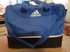 Adidas Bag Holdall Duffel Kit Bag Blue Football Gym