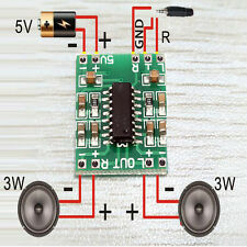 1*Numerical 2*3W USB DC 5V Amplifier D PAM8403 Power Board circuit vocal Module