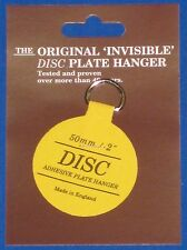 Original Disc Plate Hanger 50mm Pack Of 5