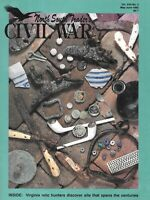 North South Trader V22 N3 AVC MVC Buttons Prussian Bayonet Chickamauga Relics