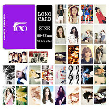 30pcs /set Cute Kpop FX all members Photo Picture Poster Lomo Cards