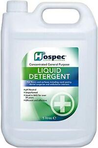 Hospec - Liquid Detergent 5 Litre x 1 Bottle
