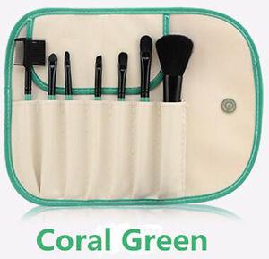 7pcs Makeup Brushes Cosmetic Set Powder Foundation Eyeshadow Brush Tool case