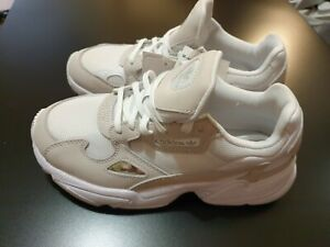 Adidas Originals Falcon W White/Crystal White Mesh Adult Trainers Shoes UK4.5