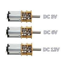 DC 3v /6v /12v  micro motor, DC motor metal 15/30/50/60/100/200/300/500/1000 RPM