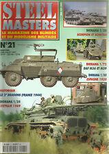 STEEL MASTERS N° 21 2e DRAGON / VIETNAM 1969 / ESPAGNE 38 / DAF M36 & M39