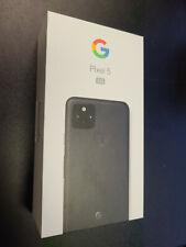 Brand New Sealed Google Pixel 5 5G 128GB Just Black Factory Unlocked Single SIM