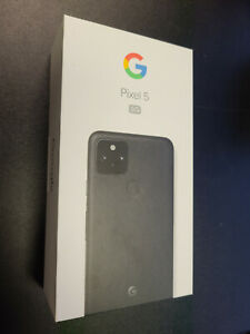 Brand New Sealed Google Pixel 5 5G 128GB Just Black Factory Unlocked Single SIM
